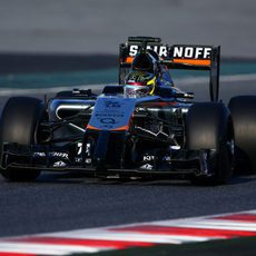 Pascal Wehrlein, de estreno con Force India