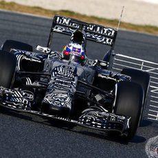Sensores en el RB11 de Daniel Ricciardo