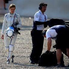 Susie Wolff lamenta el incidente con Felipe Nasr