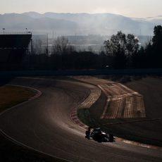 Se acaba el primer día de pruebas para Jenson Button