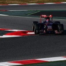 Max Verstappen se estrena en Barcelona