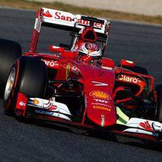 Kimi Räikkönen marcó el segundo mejor tiempo de la jornada