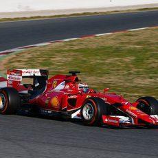 Kimi Räikkönen vuelve a los mandos del SF15-T