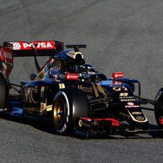 Romain Grosjean encabeza la tabla de tiempos