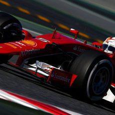 Sebastian Vettel sigue acumulando kilómetros con su Ferrari