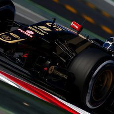Romain Grosjean marca el ritmo con su Lotus E23