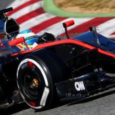 Fernando Alonso no pudo completar muchas vueltas