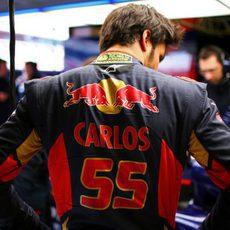 Carlos Sainz estrenaba el actualizado STR10