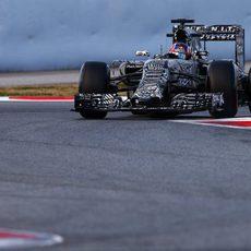 Daniil Kvyat con el Red Bull en el Circuit de Barcelona- Catalunya