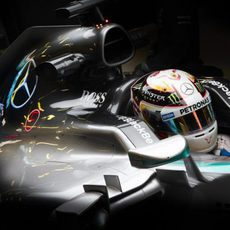 Lewis Hamilton se encuentra mejor esta semana de test