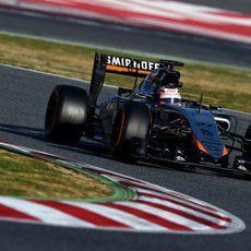 El VJM08 se estrena sobre la pista
