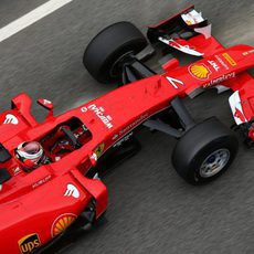 Kimi Räikkönen completa su último día de pretemporada