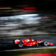 Sebastian Vettel exprime su Ferrari