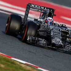 Daniel Ricciardo rueda con el compuesto más duro de la gama de Pirelli