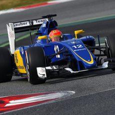 Marcus Ericsson sigue acumulando kilómetros con el C34