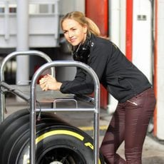 Carmen Jordá en pretemporada