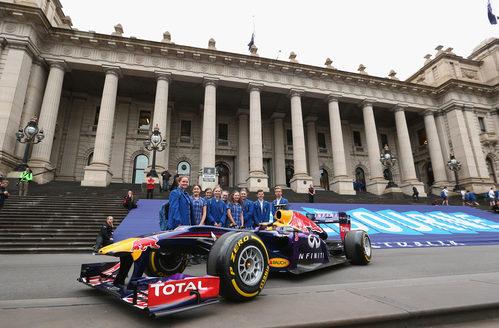 El Red Bull, estrella en Australia