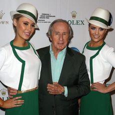 Jackie Stewart, bien acompañado