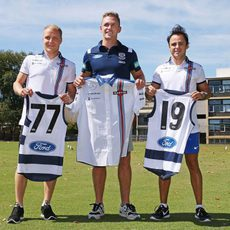 Camisetas de los Geelong Cats para los chicos de Williams