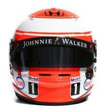 Casco de Jenson Button
