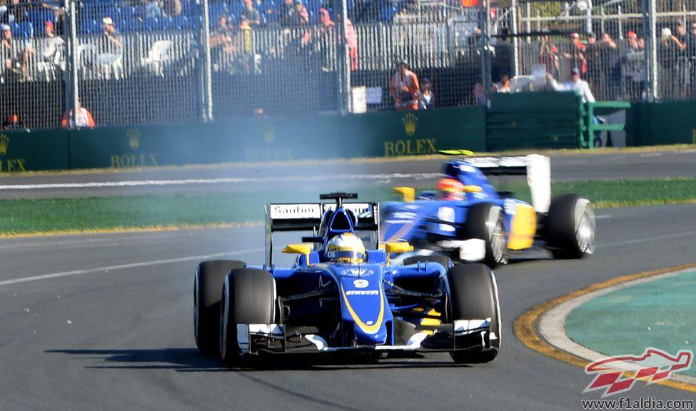 Los dos Sauber sólo han disputado los L2
