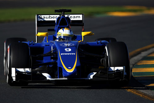 Marcus Ericsson sufre un fallo mecánico en la segunda sesión