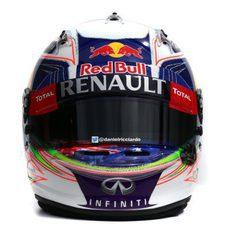 Casco de Daniel Ricciardo