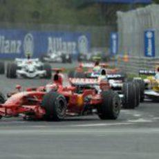 Raikkonen en carrera