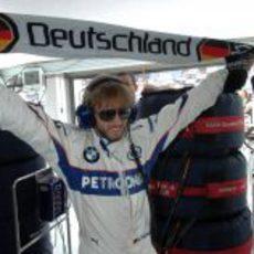 Nick Heidfeld en el GP de Francia