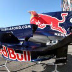 Carcasa de un Red Bull