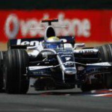 Nico Rosberg en Magny-Cours