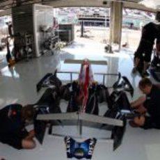 Montando el Red Bull
