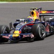 Webber en Magny-Cours