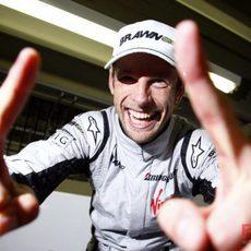 Button campeón del mundo