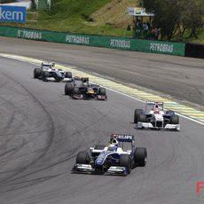 Rosberg en Brasil