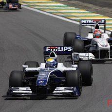 Rosberg a por el podio