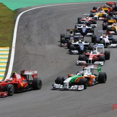 Raikkonen en Interlagos