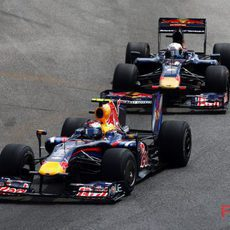 Vettel por delante de Alguersuari