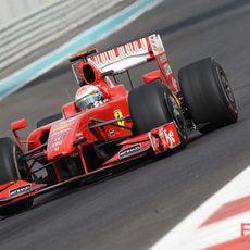 Fisichella en su último GP en Ferrari