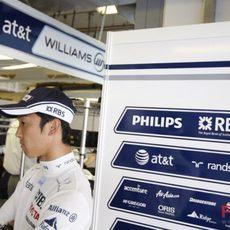 Nakajima puede estar ante su última carrera