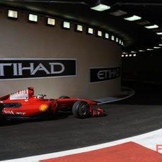 Fisichella no se adapta al Ferrari