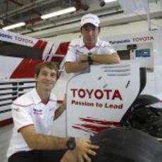 Trulli y Kobayashi