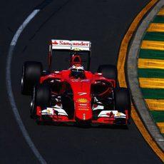 Las sensaciones de Kimi Räikkönen mejoraron al final del día