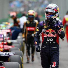 Daniel Ricciardo llegó finalmente a la Q3 en Australia