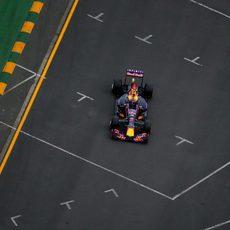 El Red Bull de Daniil Kvyat afronta la clasificación