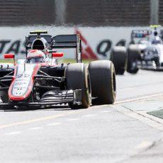 Jenson Button fue uno de los primeros eliminados en Q1