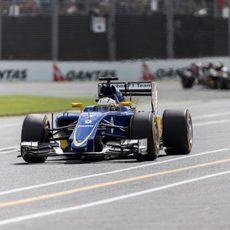 Marcus Ericsson quedó decepcionado por caer en la Q1