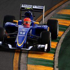 Felipe Nasr se quedó a las puertas de la Q3 en Australia