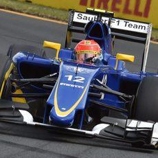 Felipe Nasr catapultó a Sauber hasta el 11º puesto en Q2