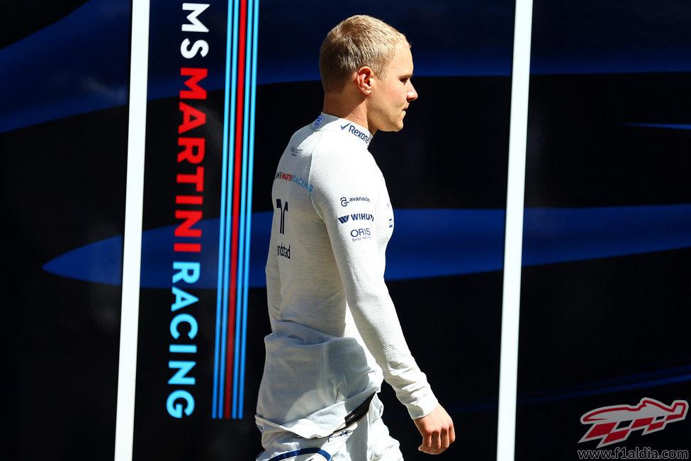Valtteri Bottas se queda sin disputar el GP de Australia 2015